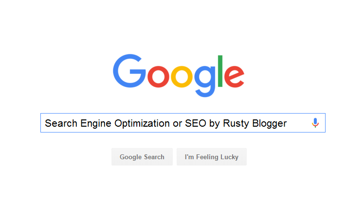 Search Engine Optimisation or SEO
