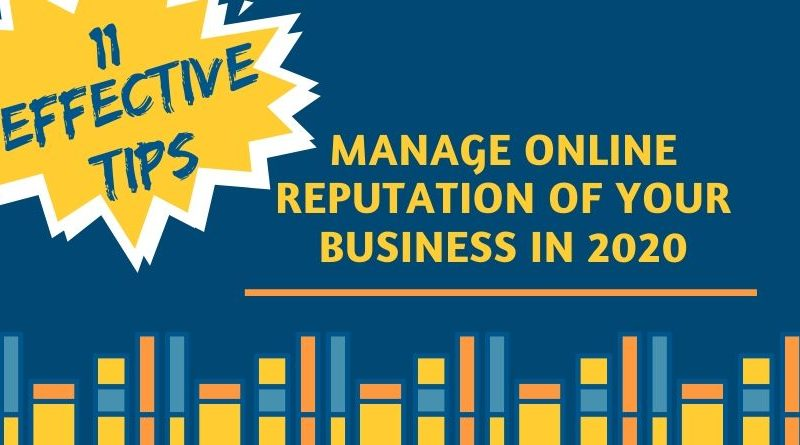 Manage Online Reputation