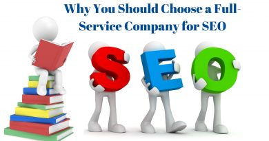 Why You Should Choose a Full-Service Company for SEO